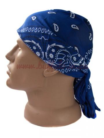 Бандана Классическая Синяя