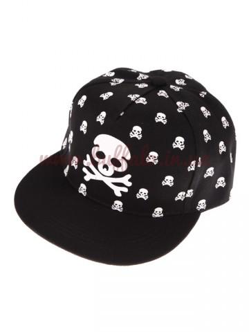 Бейсболка Hip-Hop Skull