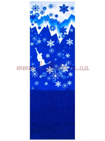 Баф Сноуборд Синий Polar